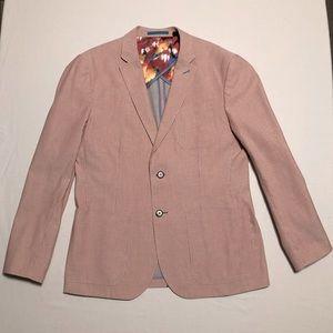 Ted Baker pinstriped blazer